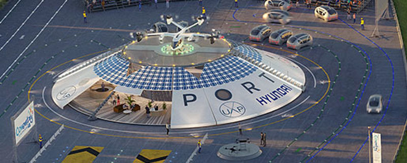 Hyundai Motor Group geht Partnerschaft mit Urban Air Port® ein